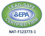 EPA Lead-Safe Certified Firm NAT-F123773-1