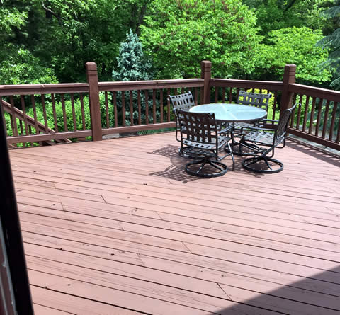 Deck Staining and Painting Services Madison Wisconsin